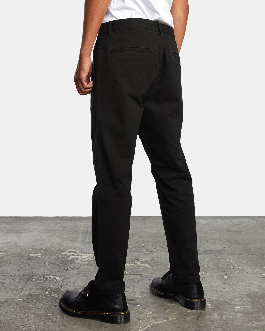 3 HITCHER PANT Black ME303HIT RVCA