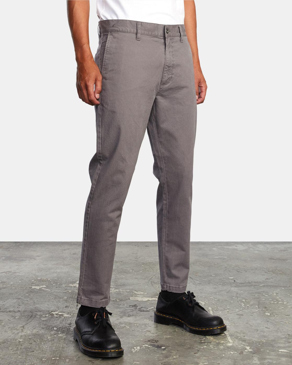 11 HITCHER PANT Grey ME303HIT RVCA
