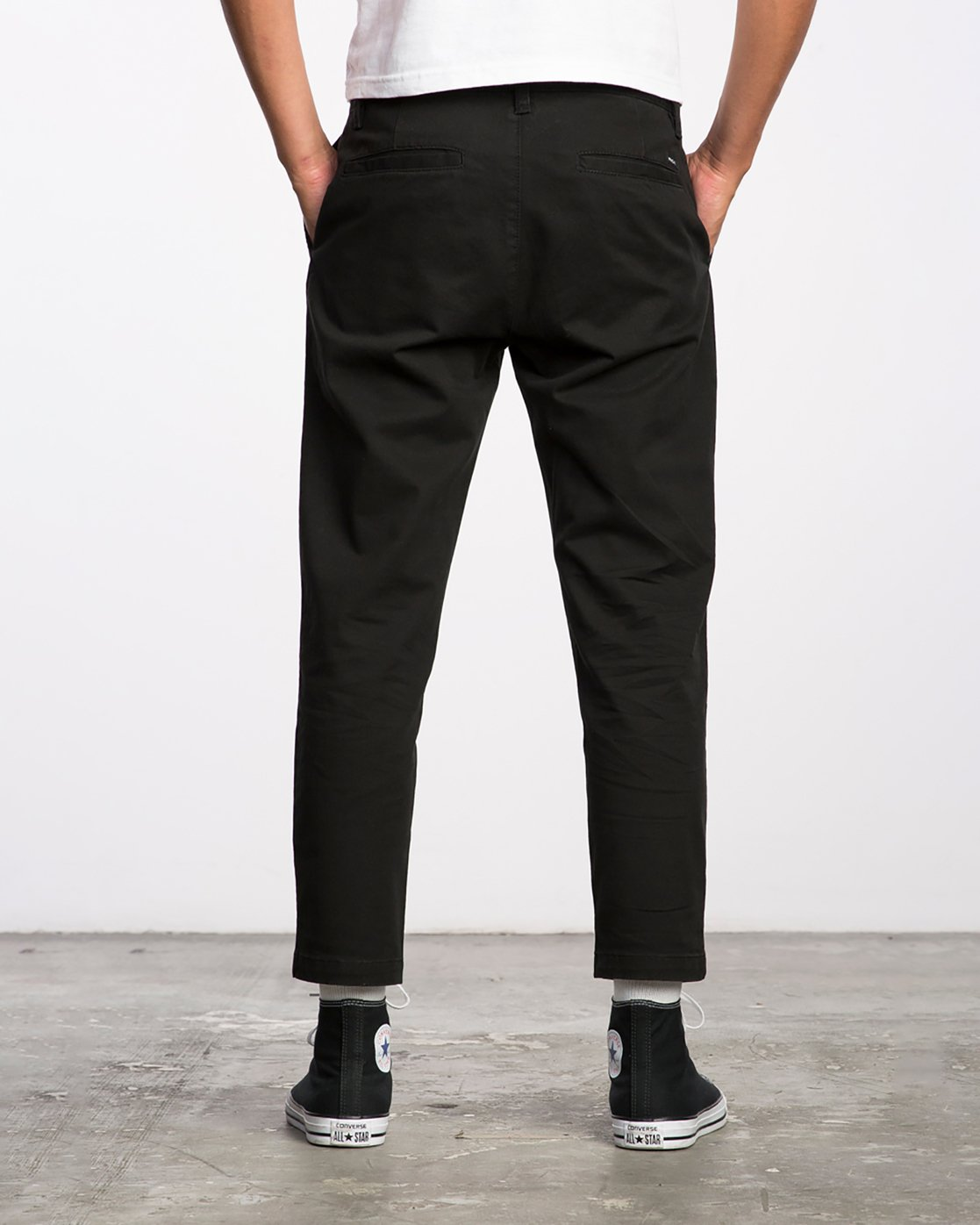 1 HITCHER PANT Black ME303HIT RVCA
