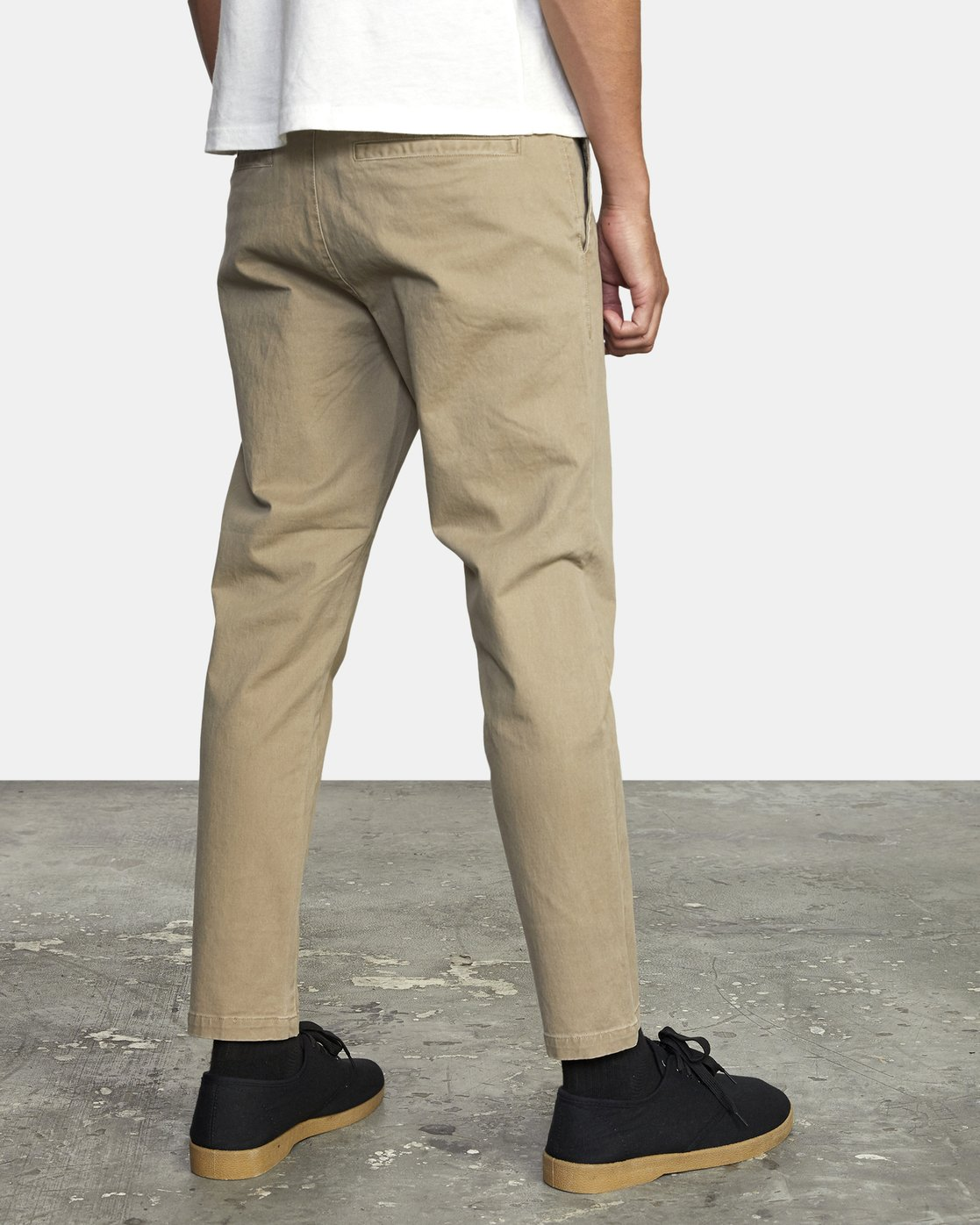3 HITCHER PANT White ME303HIT RVCA