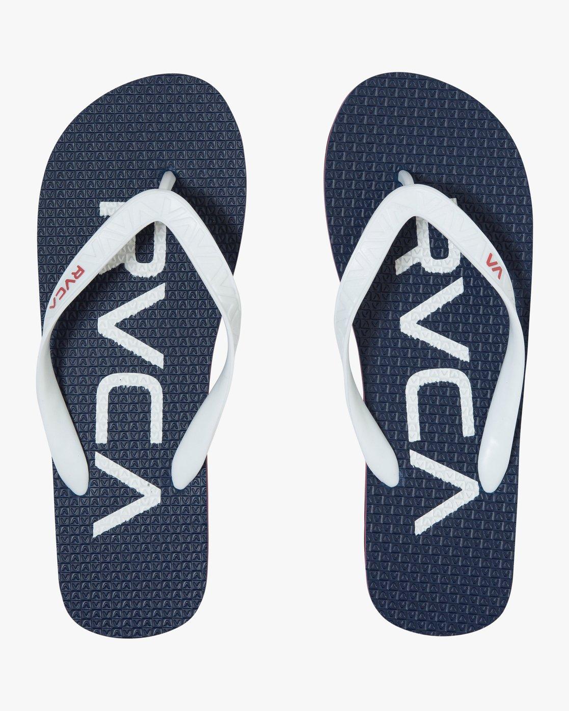 1 Trench Town 3 Sandal Blue MFOTTRTR RVCA