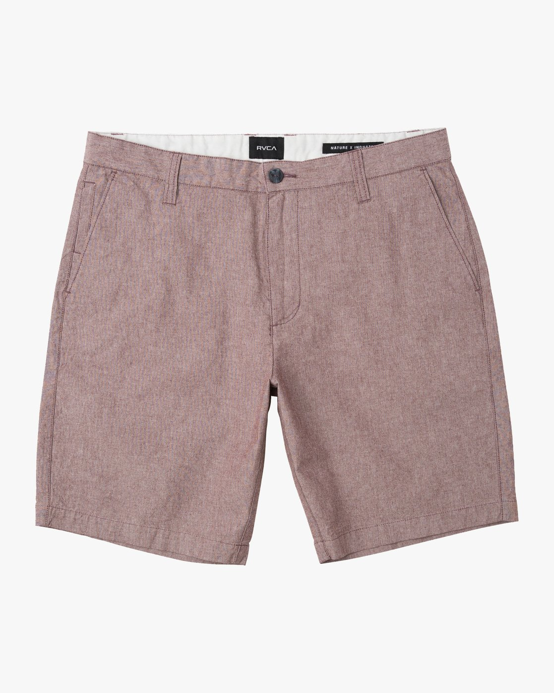 0 That'll Walk Oxford Short Red MJ214TWO RVCA