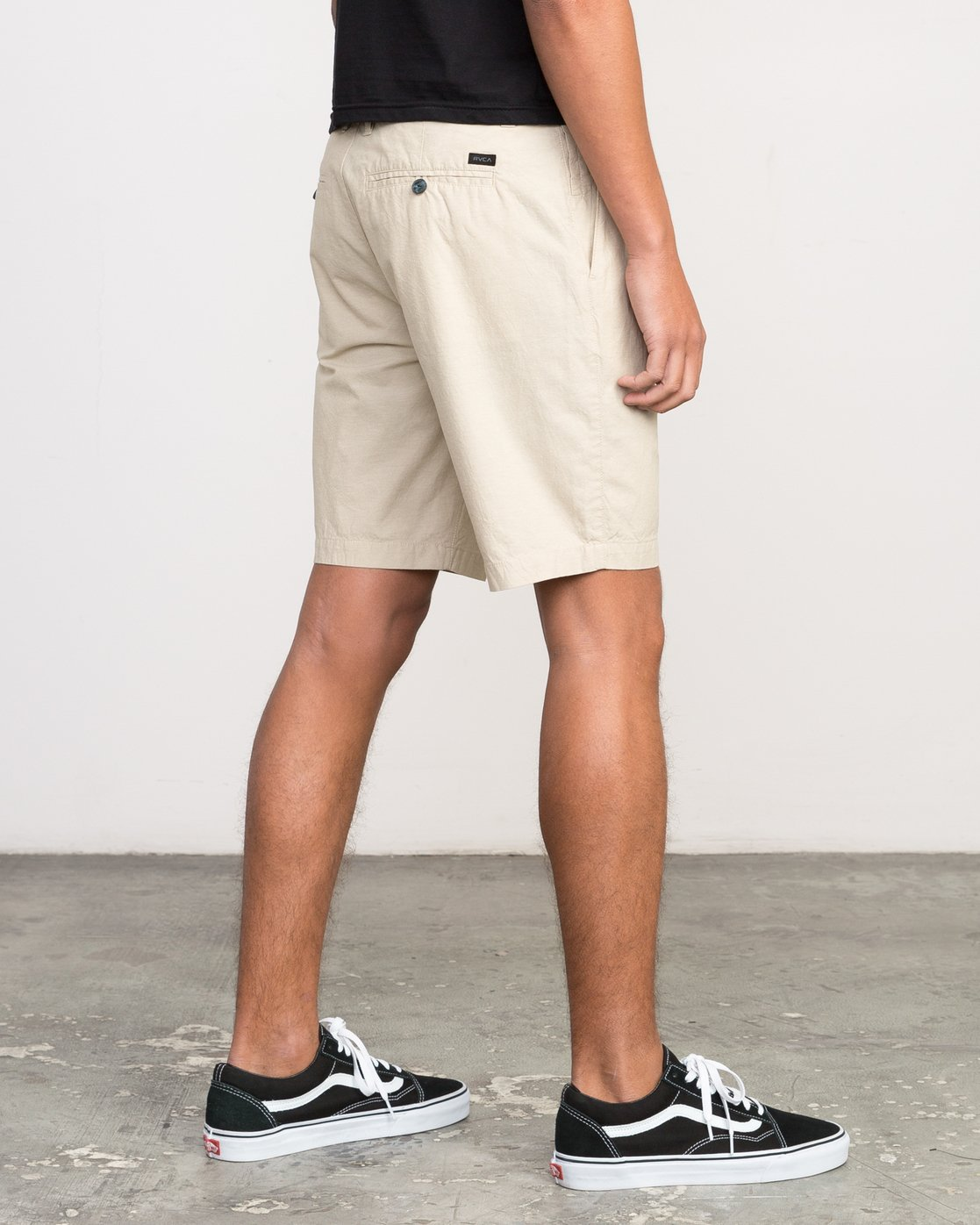 5 That'll Walk Oxford Short Yellow MJ214TWO RVCA