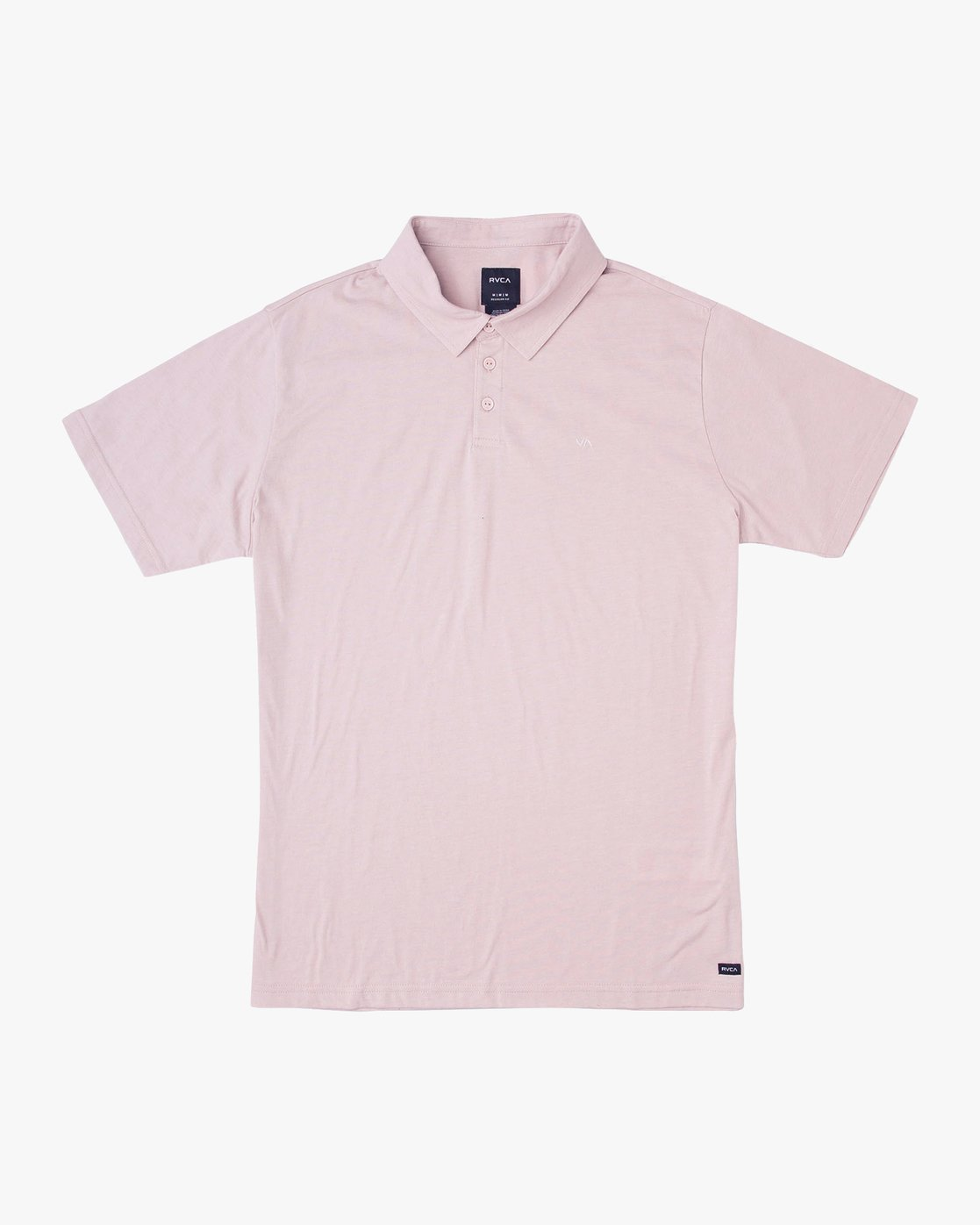 0 Sure Thing II Polo Pink MJ922SUR RVCA