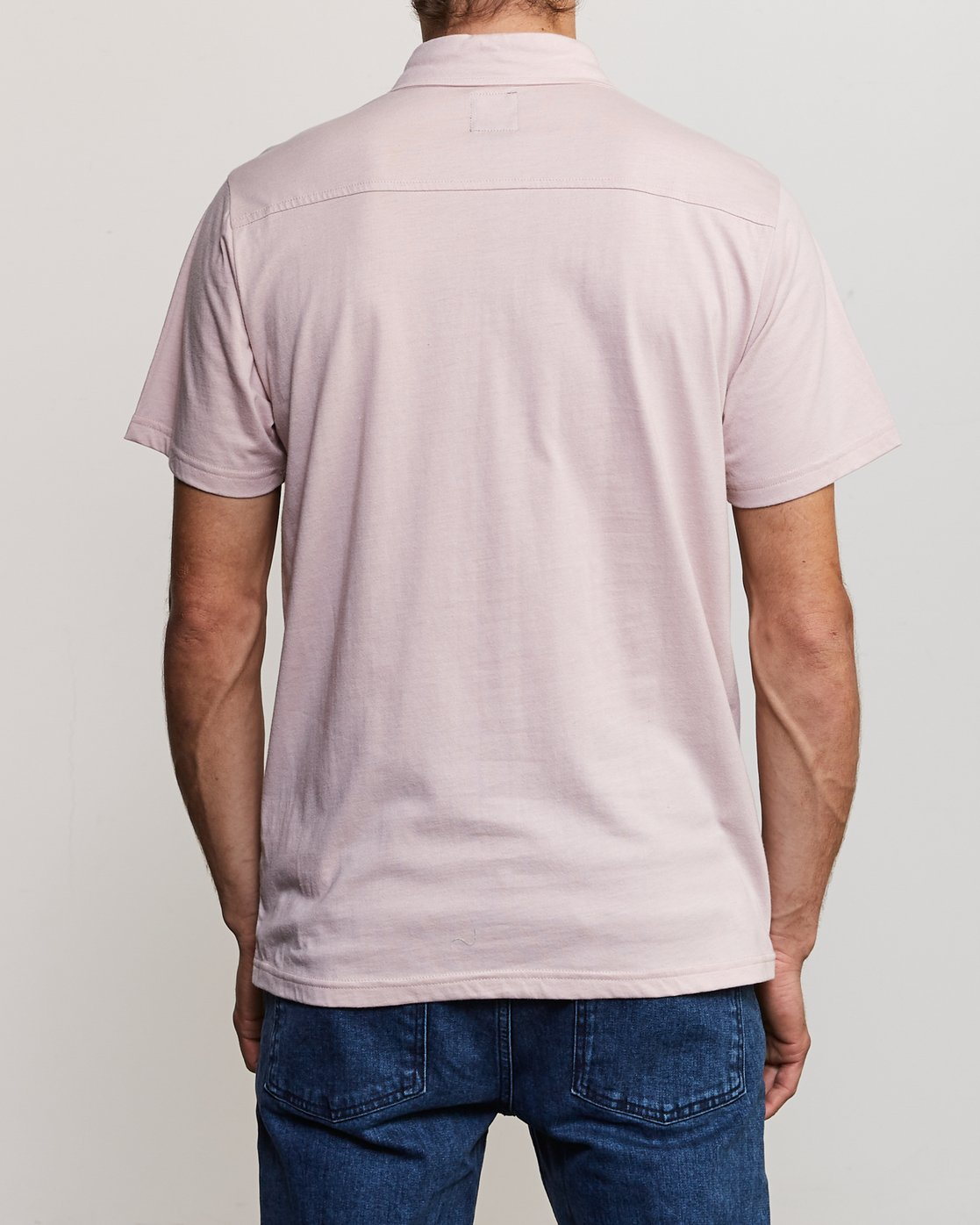 3 Sure Thing II Polo Pink MJ922SUR RVCA