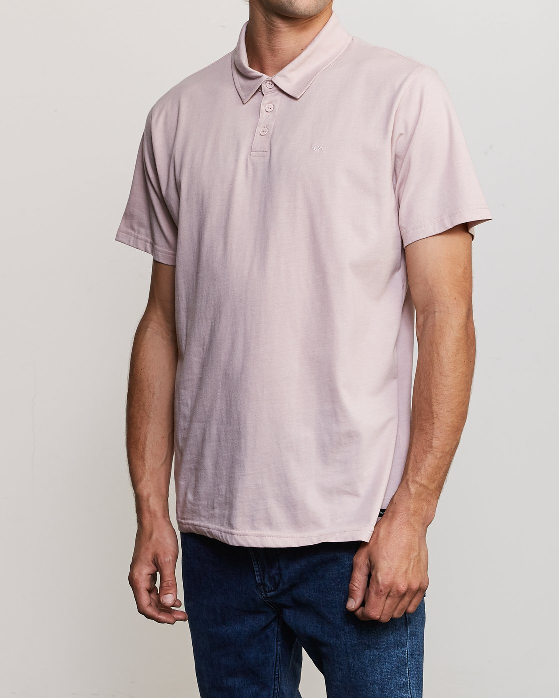 2 Sure Thing II Polo Pink MJ922SUR RVCA