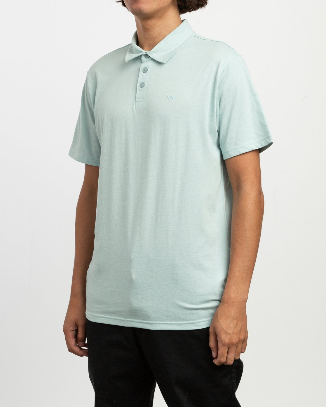 2 Sure Thing II Polo Blue MJ922SUR RVCA