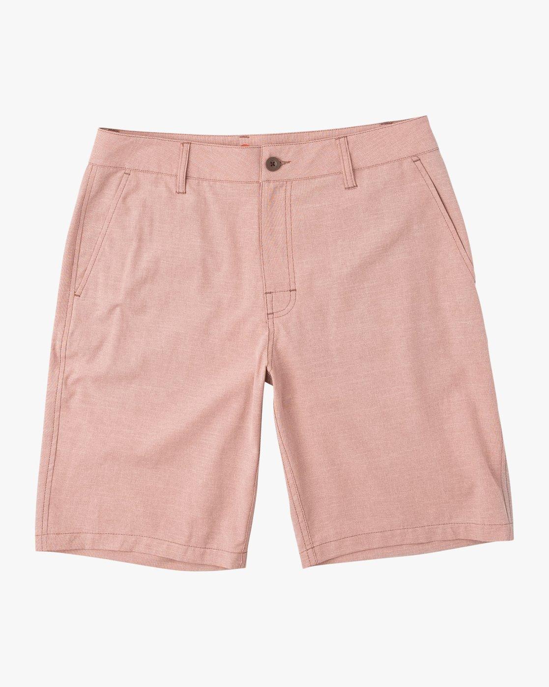 0 Balance Hybrid Shorts Brown MK201BAL RVCA