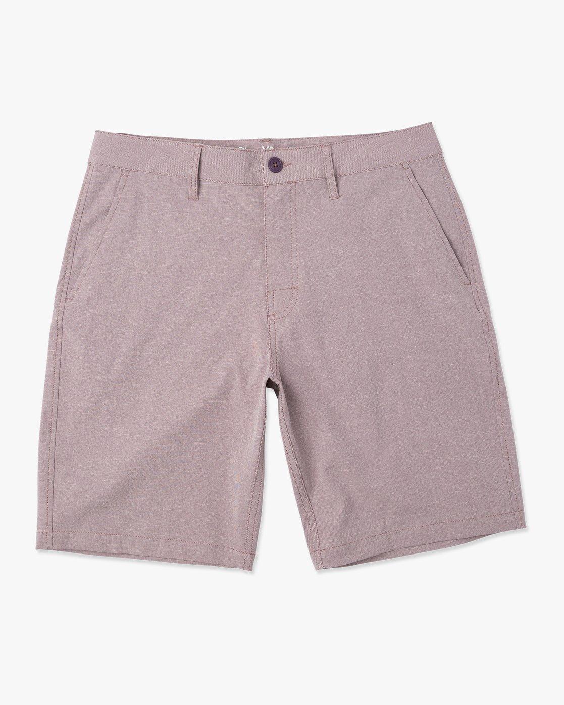0 Balance Hybrid Shorts Purple MK201BAL RVCA