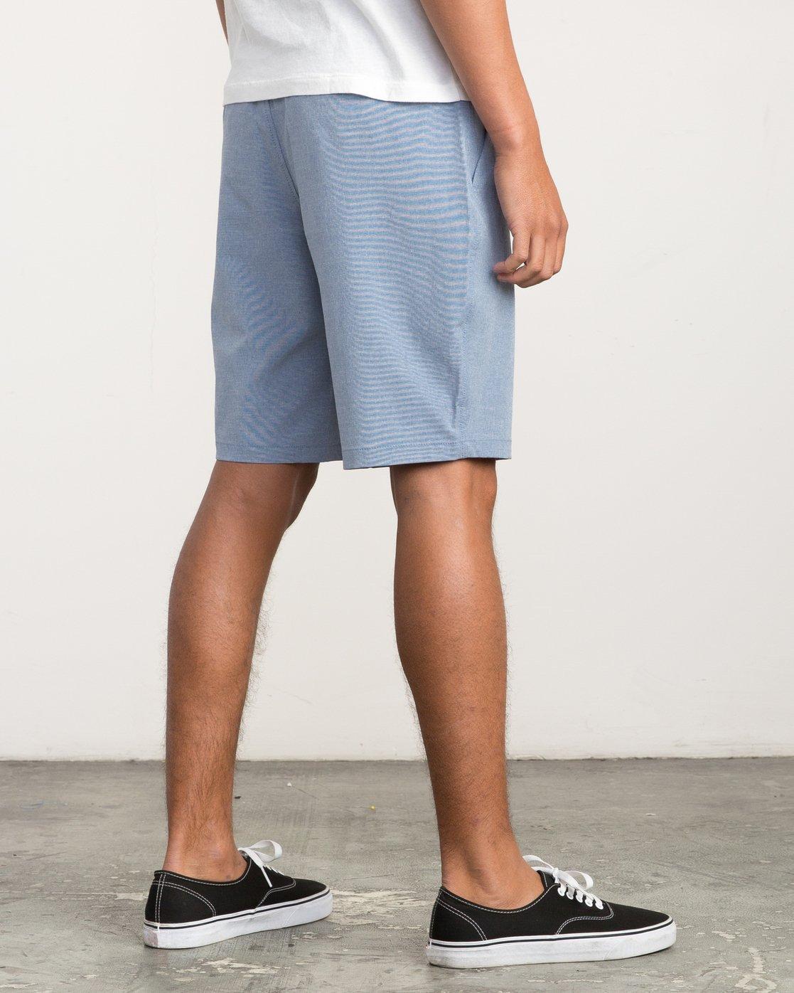 5 Balance Hybrid Shorts Blue MK201BAL RVCA