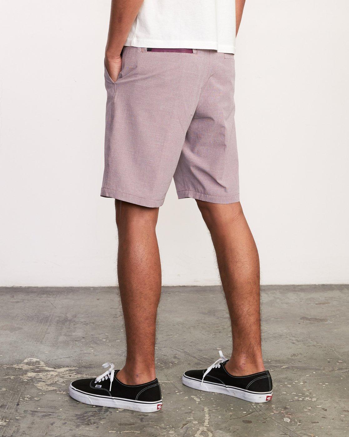 3 Balance Hybrid Shorts Purple MK201BAL RVCA