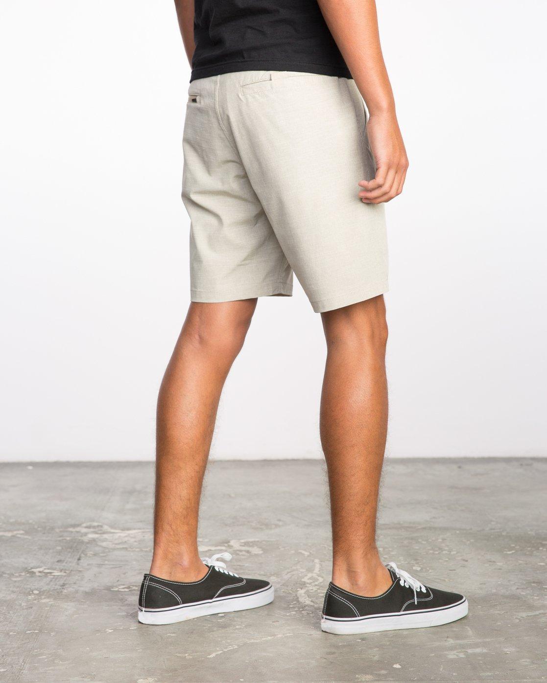 5 Balance Hybrid Shorts Beige MK201BAL RVCA