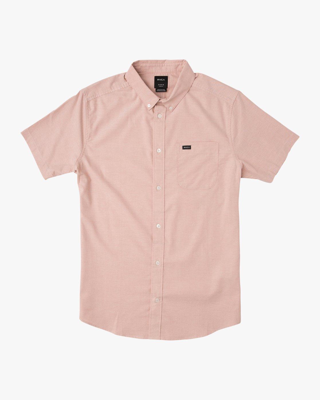 0 That'll Do Stretch Short Sleeve Shirt Brown MK515TDS RVCA