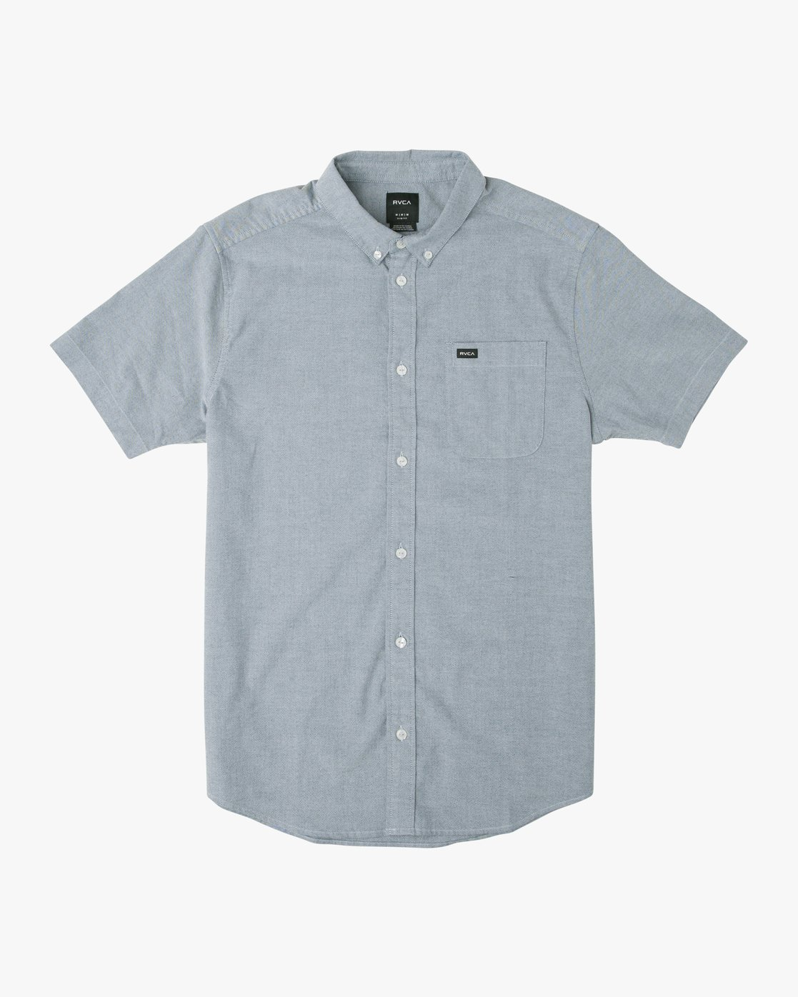4 That'll Do Stretch Short Sleeve Shirt Blue MK515TDS RVCA
