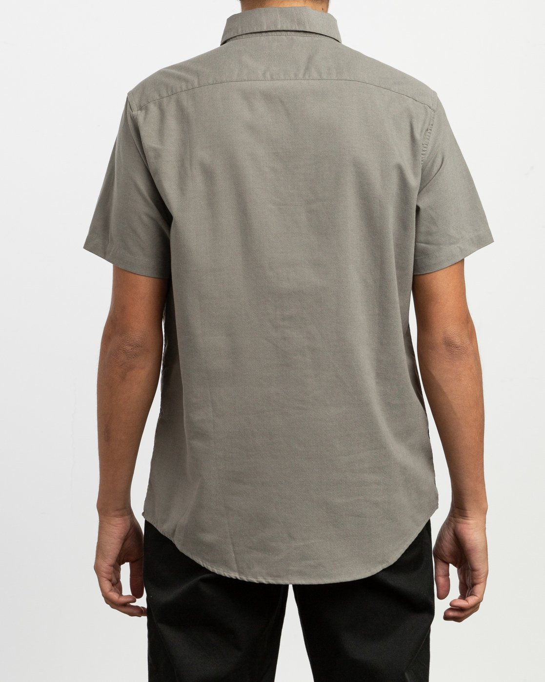 3 That'll Do Stretch Short Sleeve Shirt Brown MK515TDS RVCA