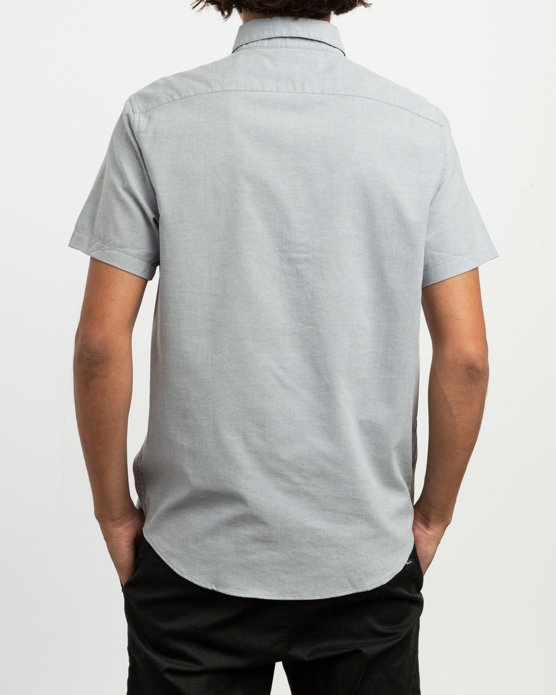 1 That'll Do Stretch Short Sleeve Shirt White MK515TDS RVCA