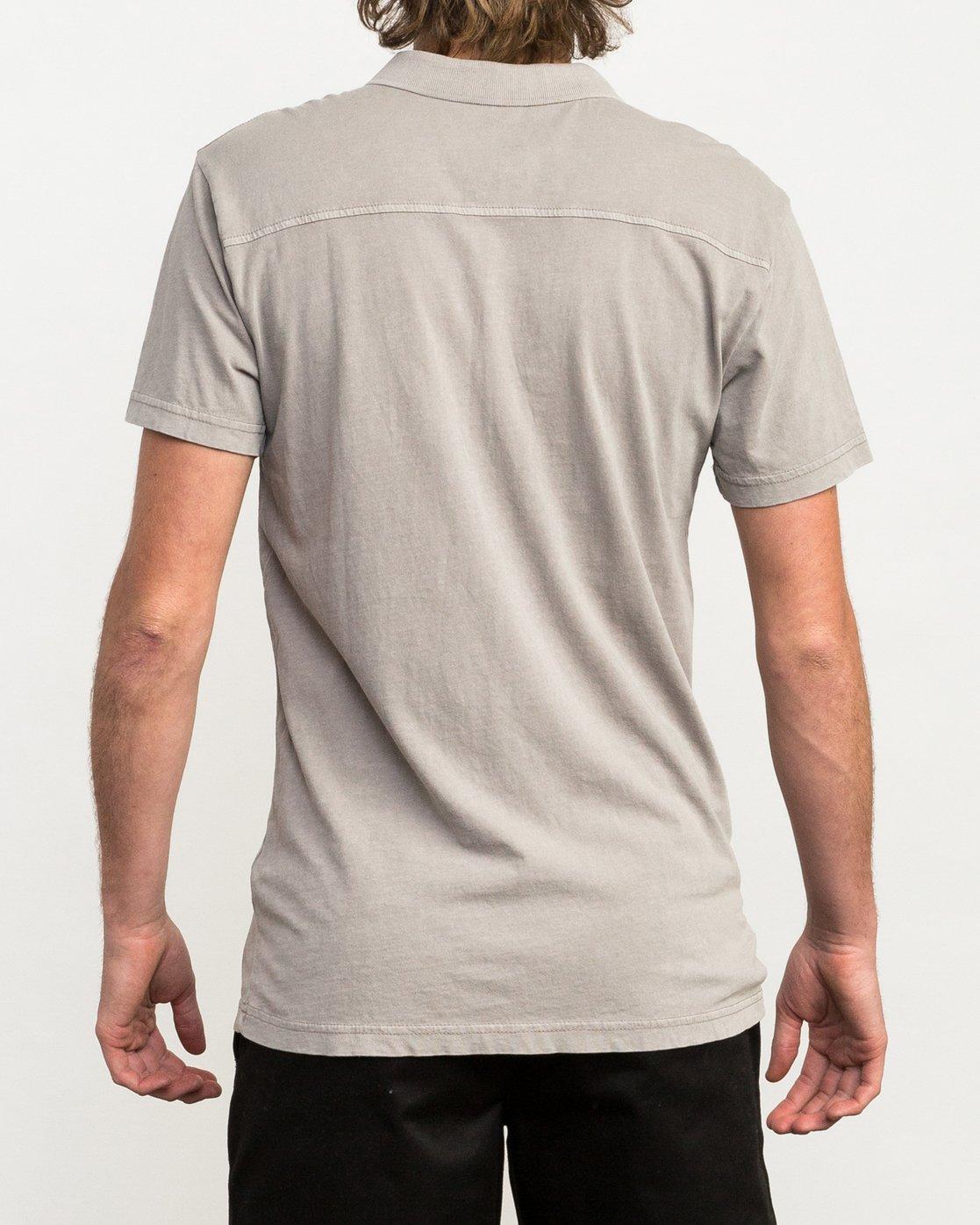 3 PTC Pigment Polo Shirt Multicolor MK908PPP RVCA