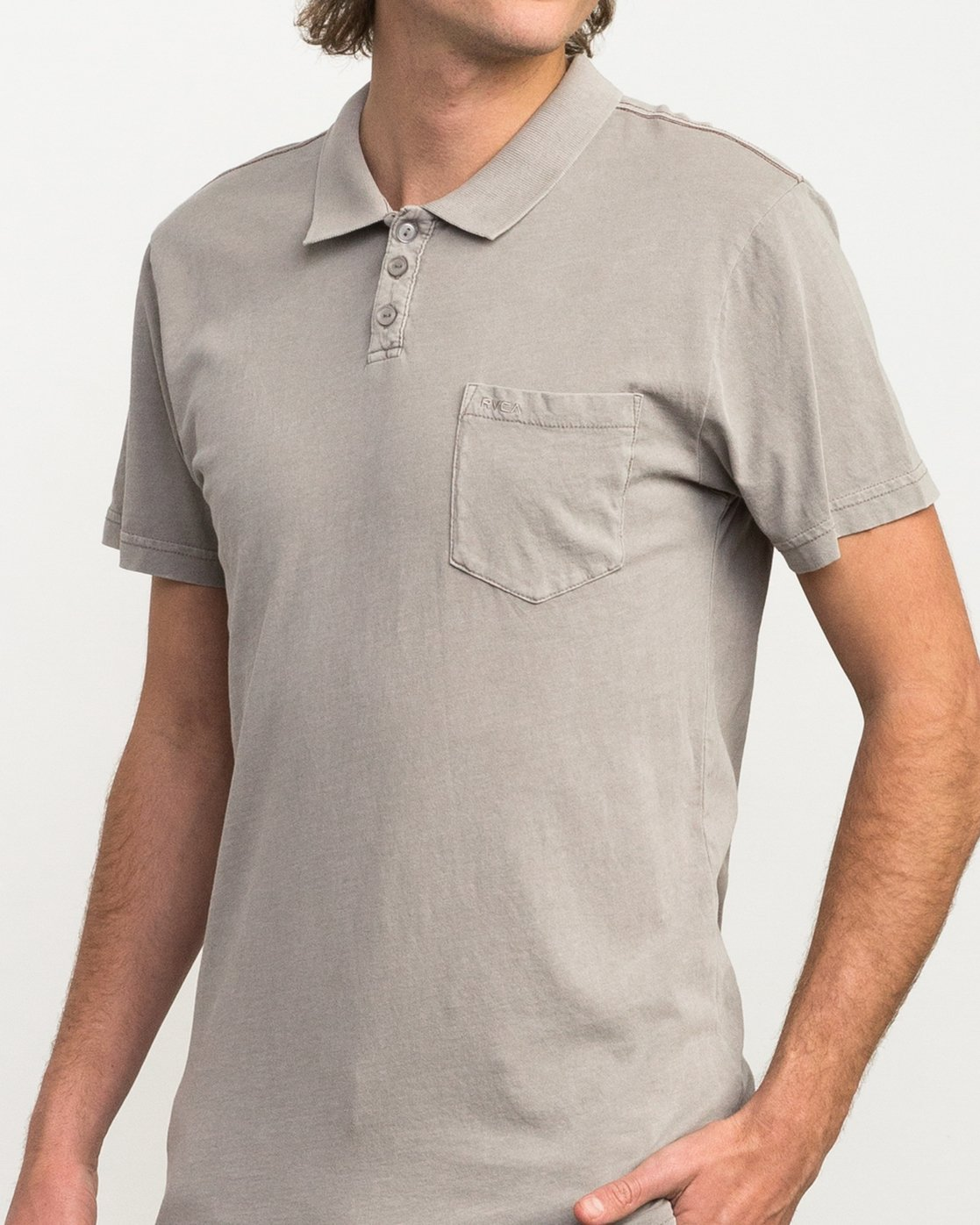 4 PTC Pigment Polo Shirt Multicolor MK908PPP RVCA