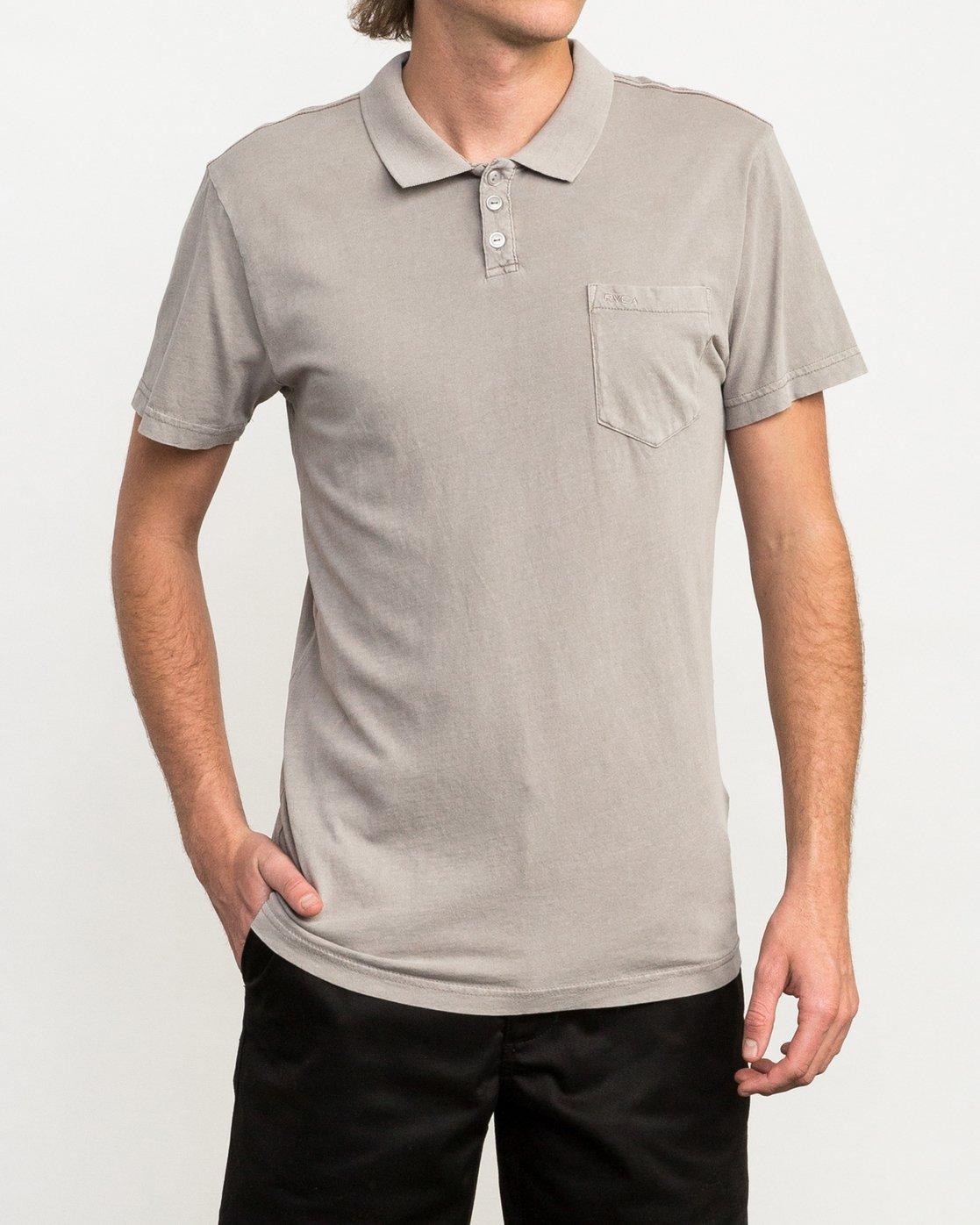 1 PTC Pigment Polo Shirt Multicolor MK908PPP RVCA