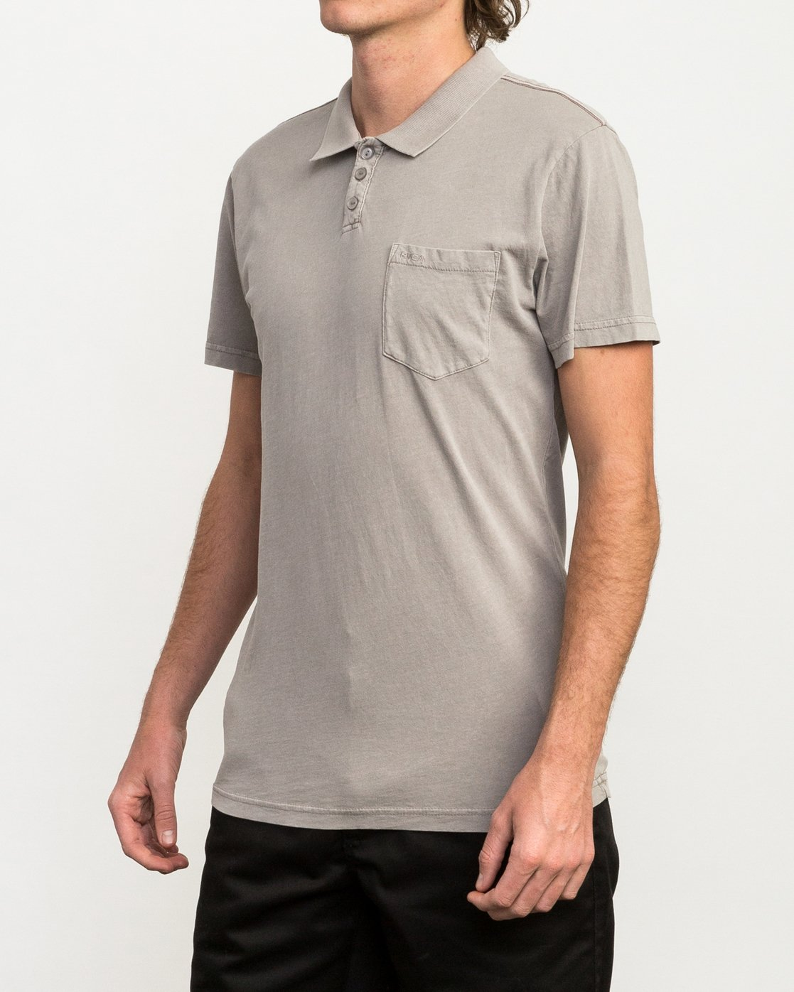 2 PTC Pigment Polo Shirt Multicolor MK908PPP RVCA