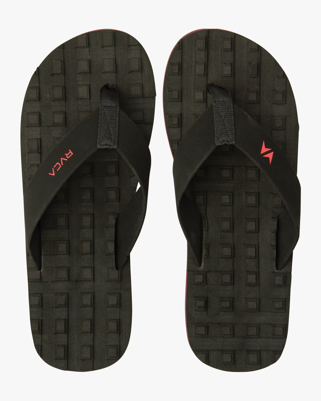 2 Astrodeck Sandal Black MKASPADS RVCA