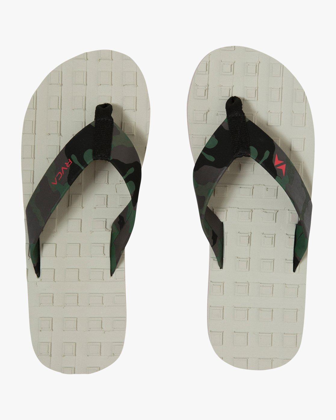 1 Astrodeck Sandal White MKASPADS RVCA