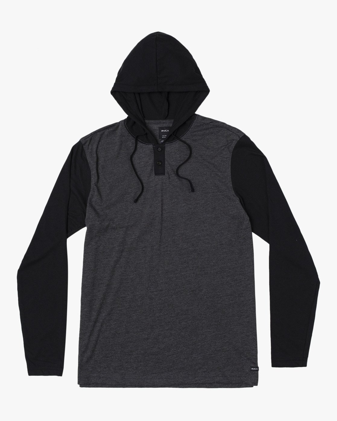 0 Pick Up Hooded Knit Shirt Black ML916PIH RVCA