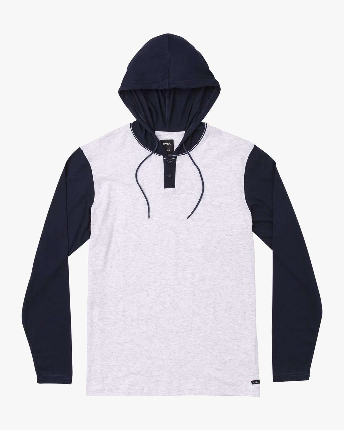 0 Pick Up Hooded Knit Shirt Blue ML916PIH RVCA