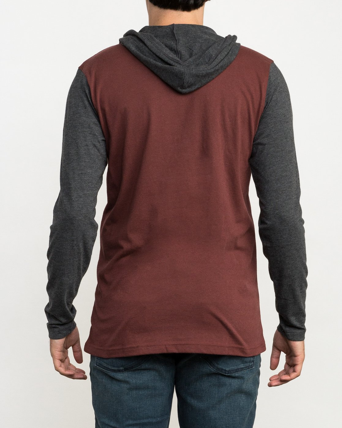 4 Pick Up Hooded Knit Shirt Red ML916PIH RVCA