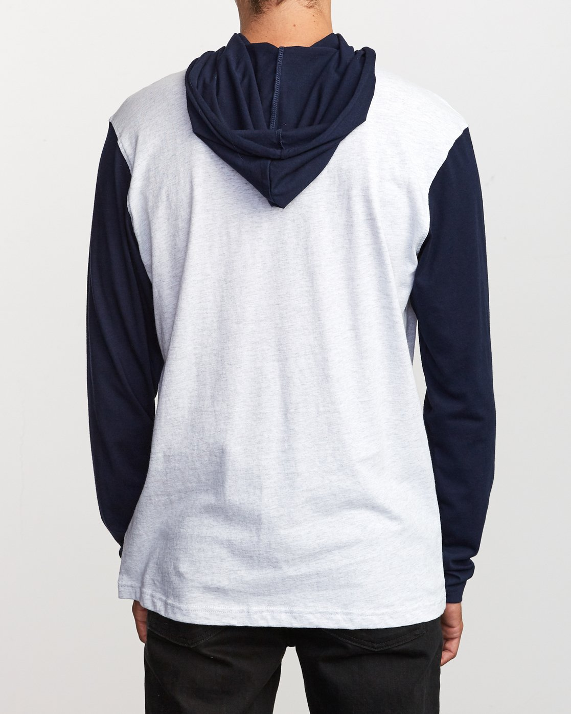 3 Pick Up Hooded Knit Shirt Blue ML916PIH RVCA