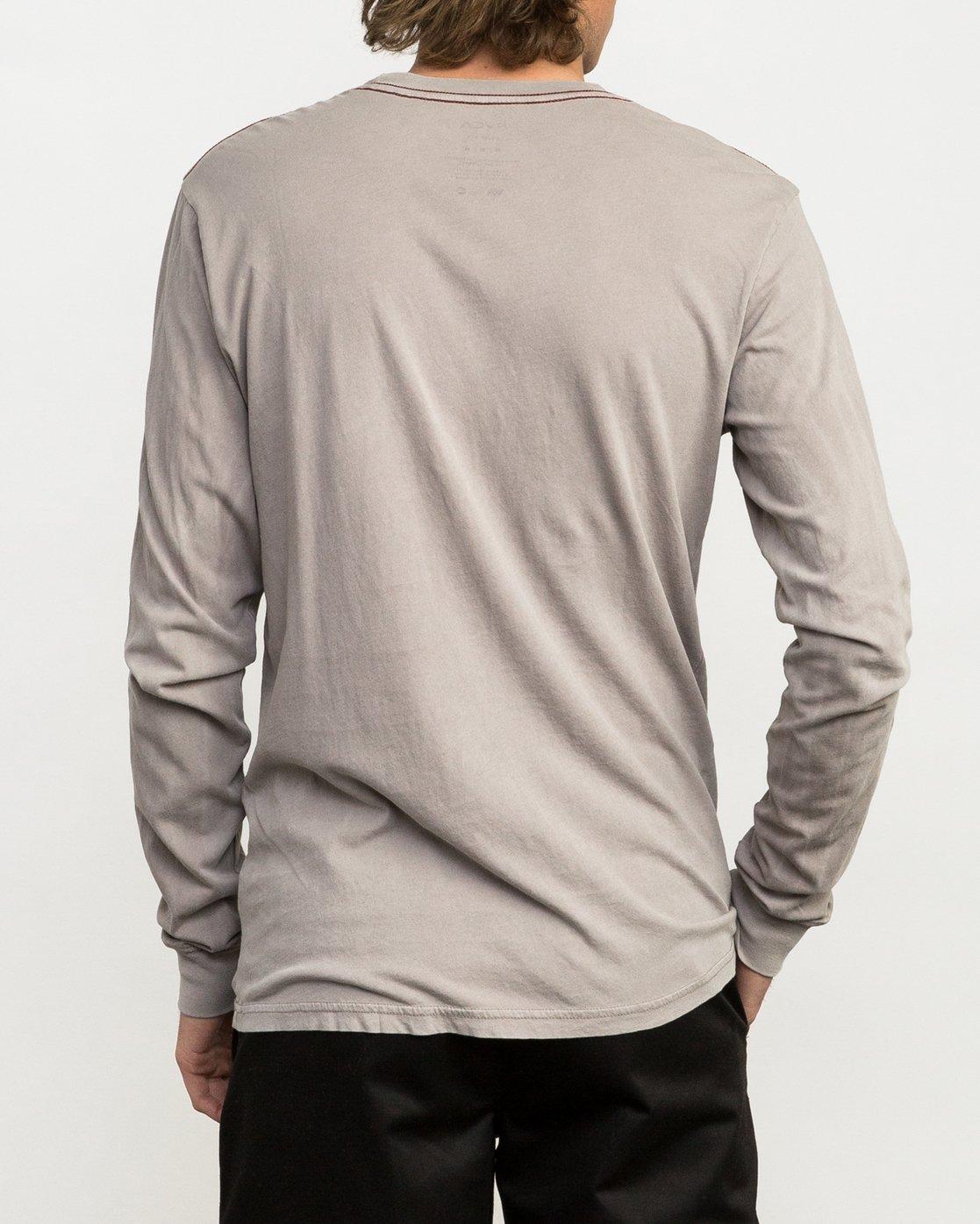 3 PTC Pigment Long Sleeve T-Shirt Multicolor ML921PPL RVCA