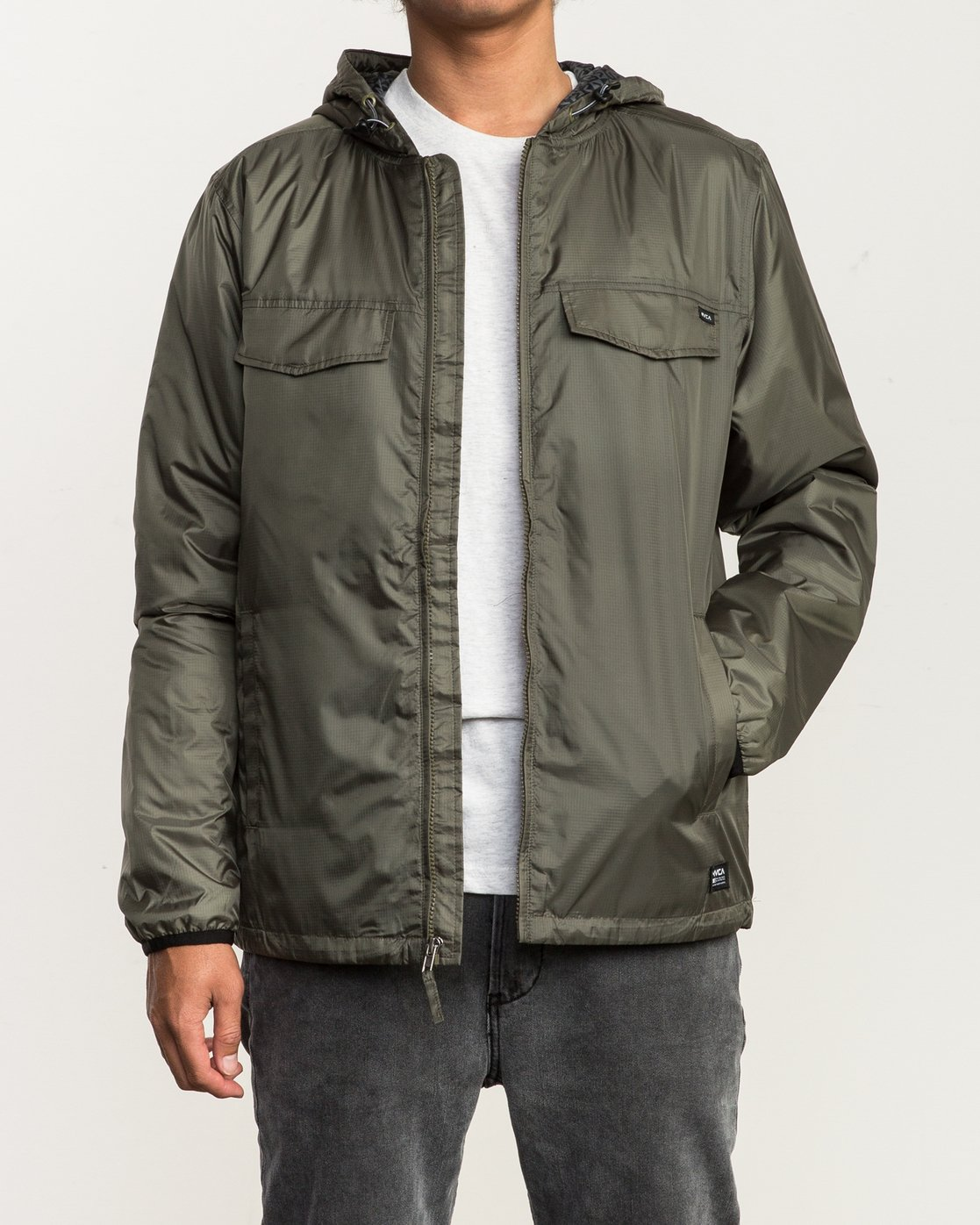 2 Tracer Jacket Green MM702TRA RVCA
