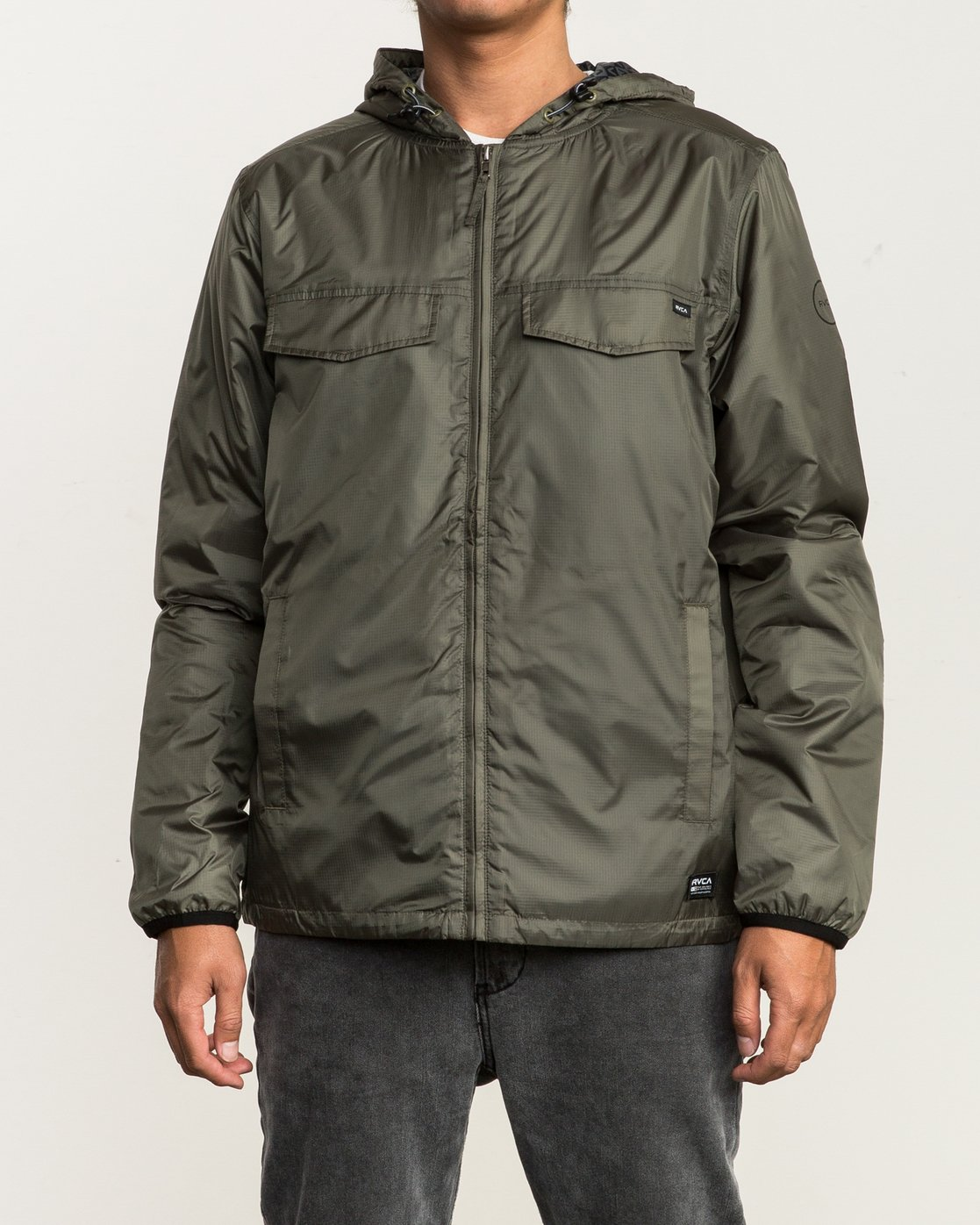 3 Tracer Jacket Green MM702TRA RVCA