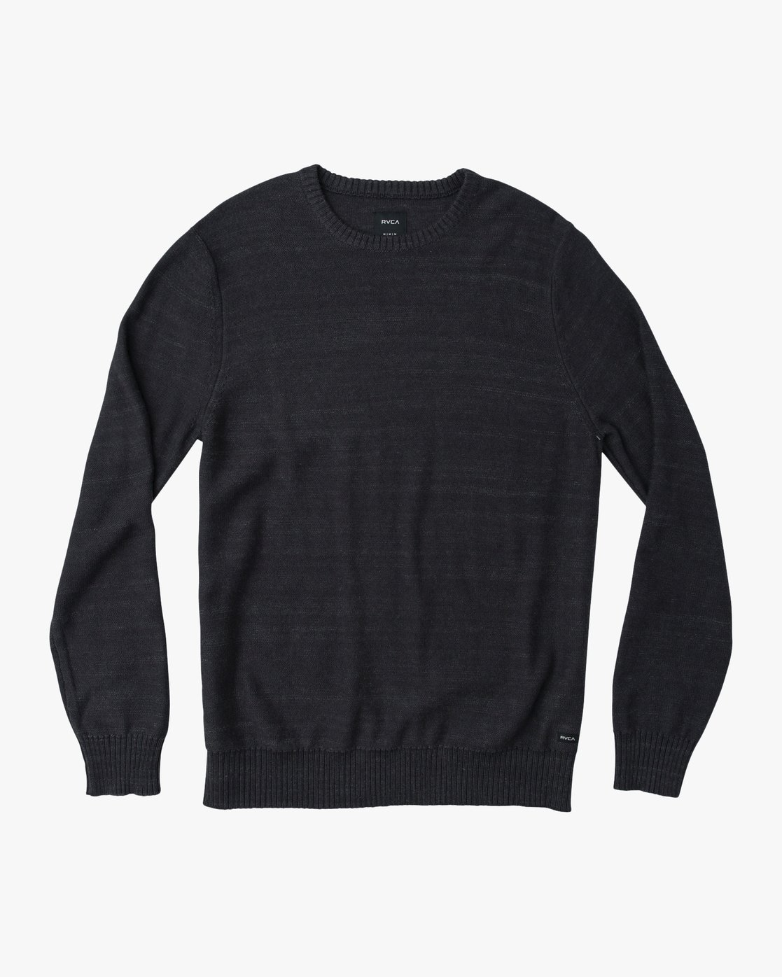 0 Man Up Sweater Black MV01QRMU RVCA