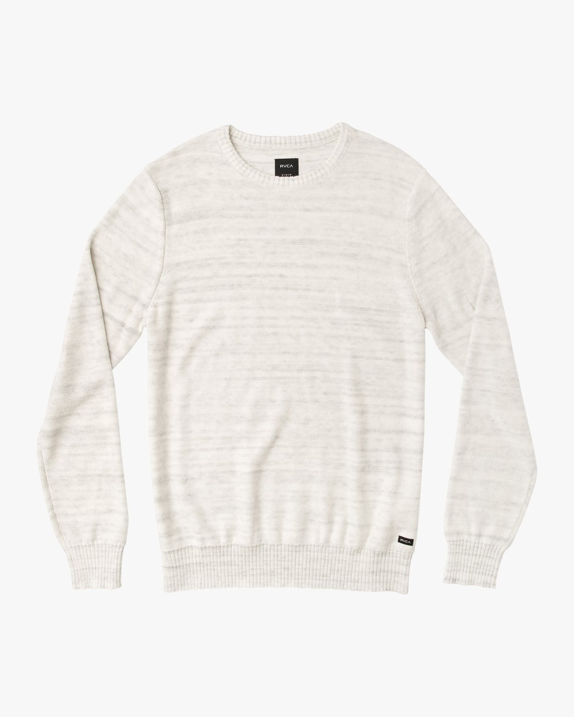 0 Man Up Sweater White MV01QRMU RVCA