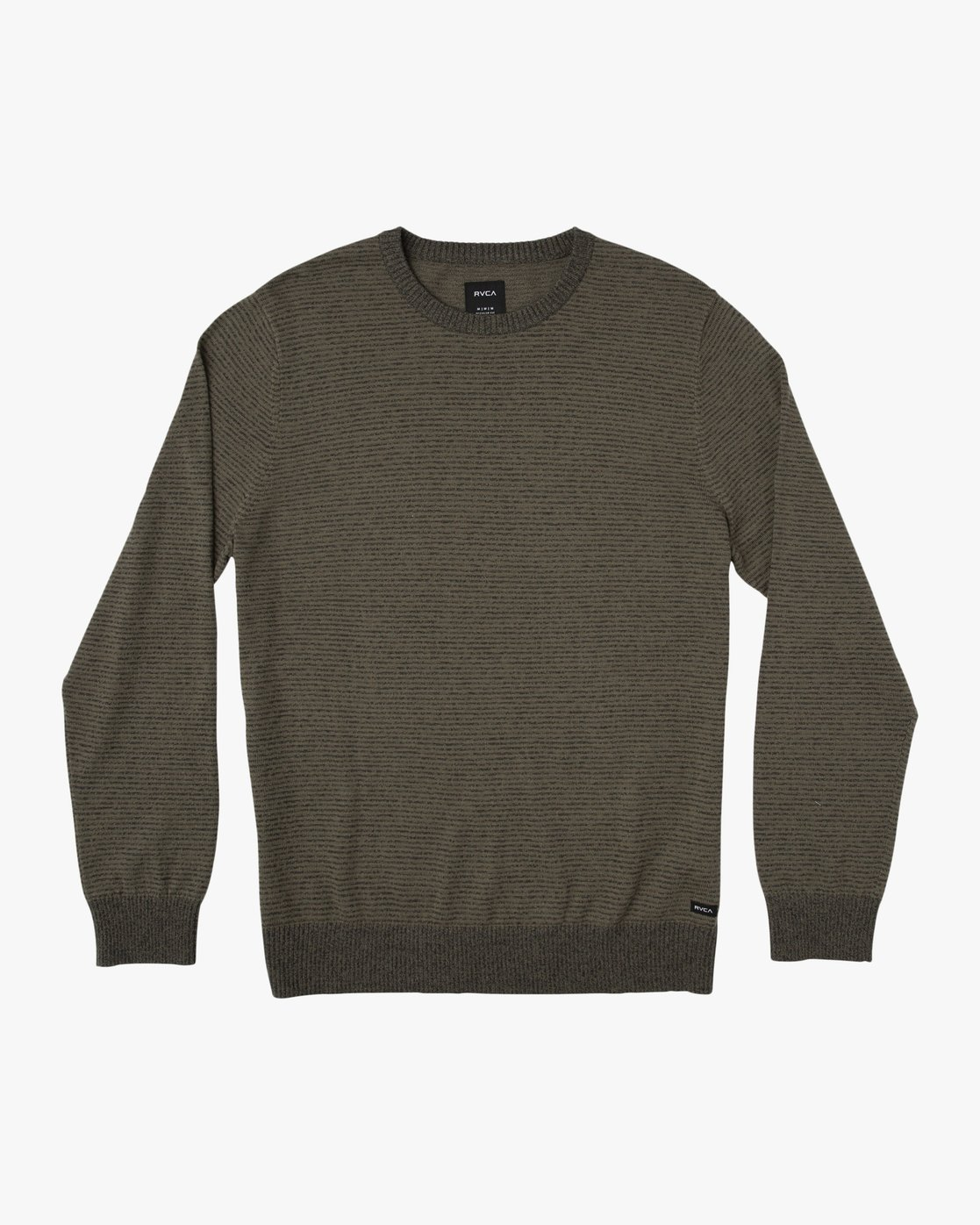 0 Layback Striped Sweater Grey MV42SRLB RVCA