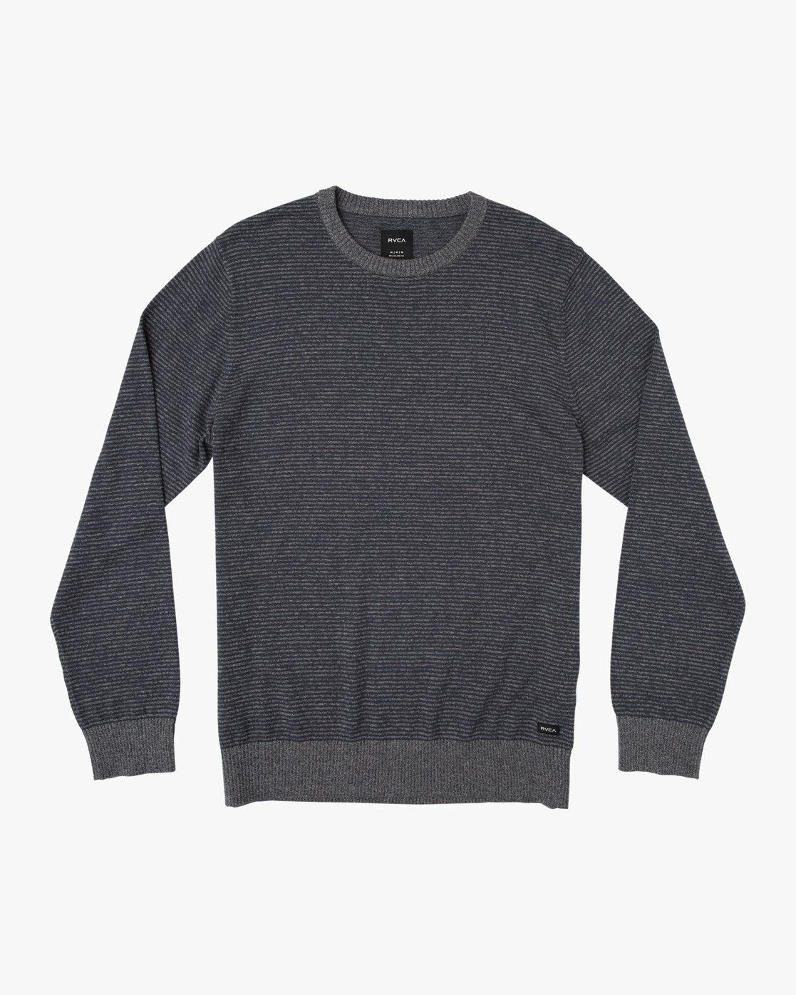0 Layback Striped Sweater Grey MV42SRLB RVCA