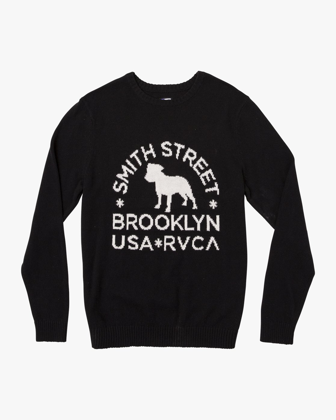 0 Smith Street Knit Sweater Black MV53VRSS RVCA