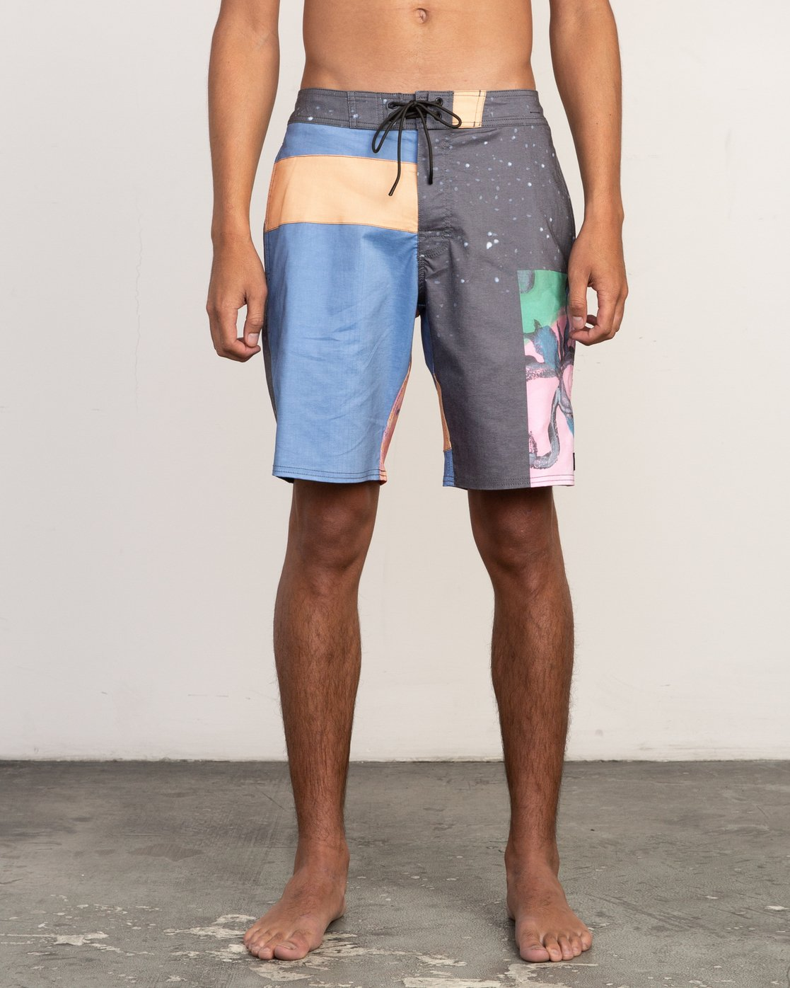 "2 Sage Vaughn Collage Trunk - 19"" Boardshorts for Men  N1BSRBRVP9 RVCA"