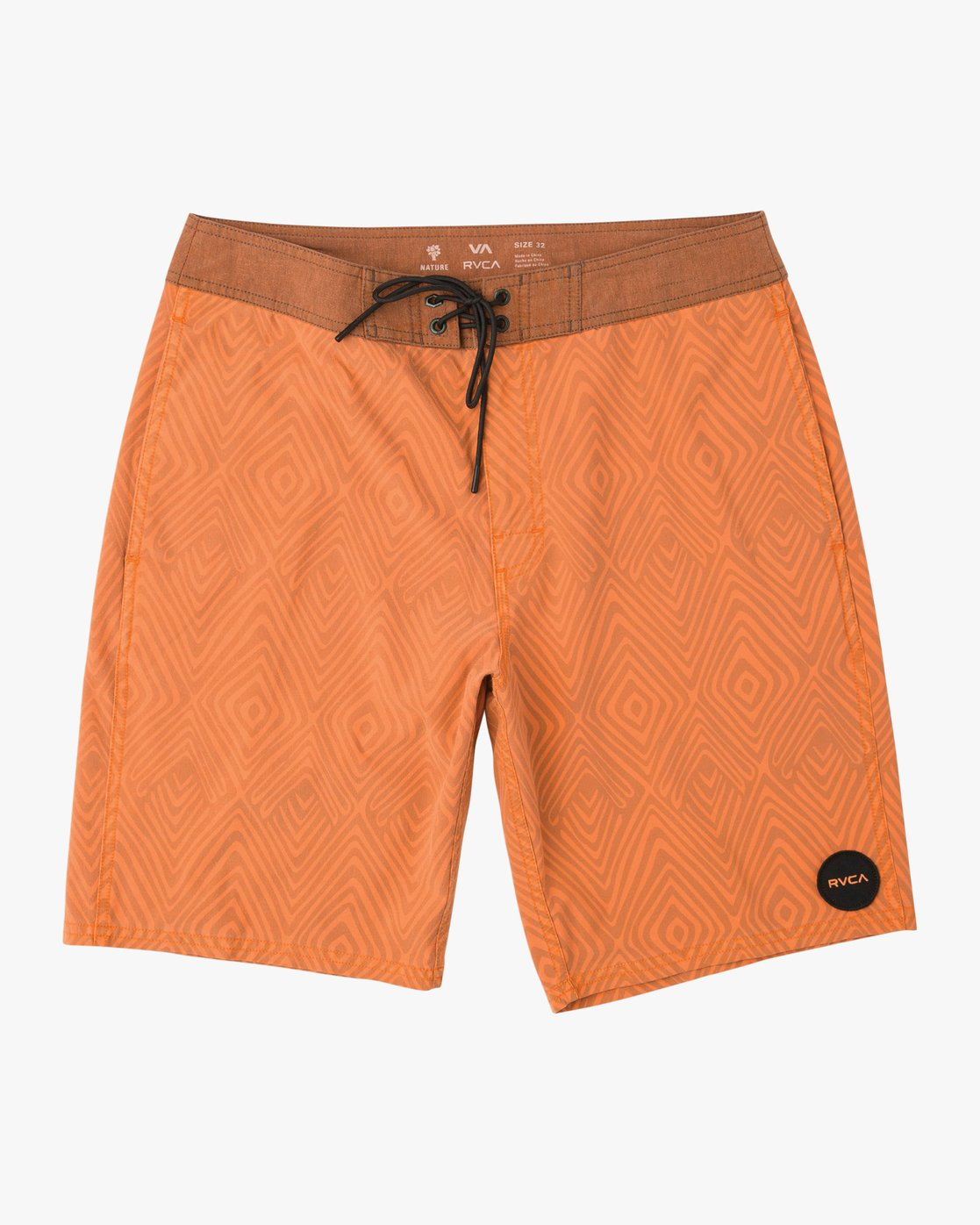 0 Mowgli Mosaic Trunk Orange N1BSRGRVP9 RVCA