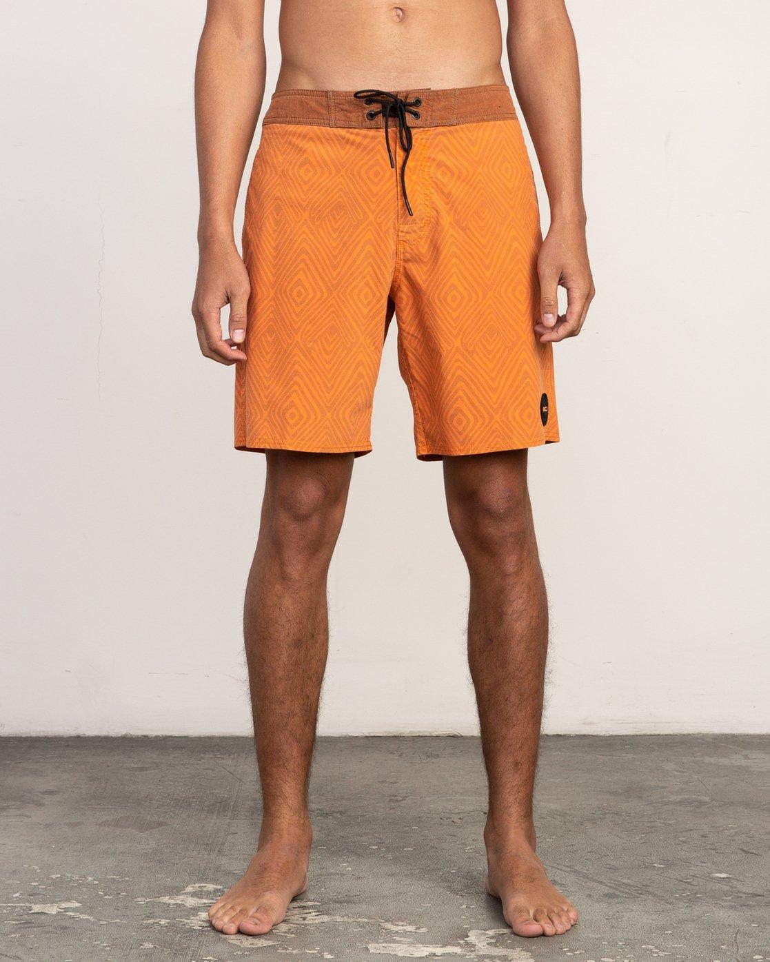 1 Mowgli Mosaic Trunk Orange N1BSRGRVP9 RVCA