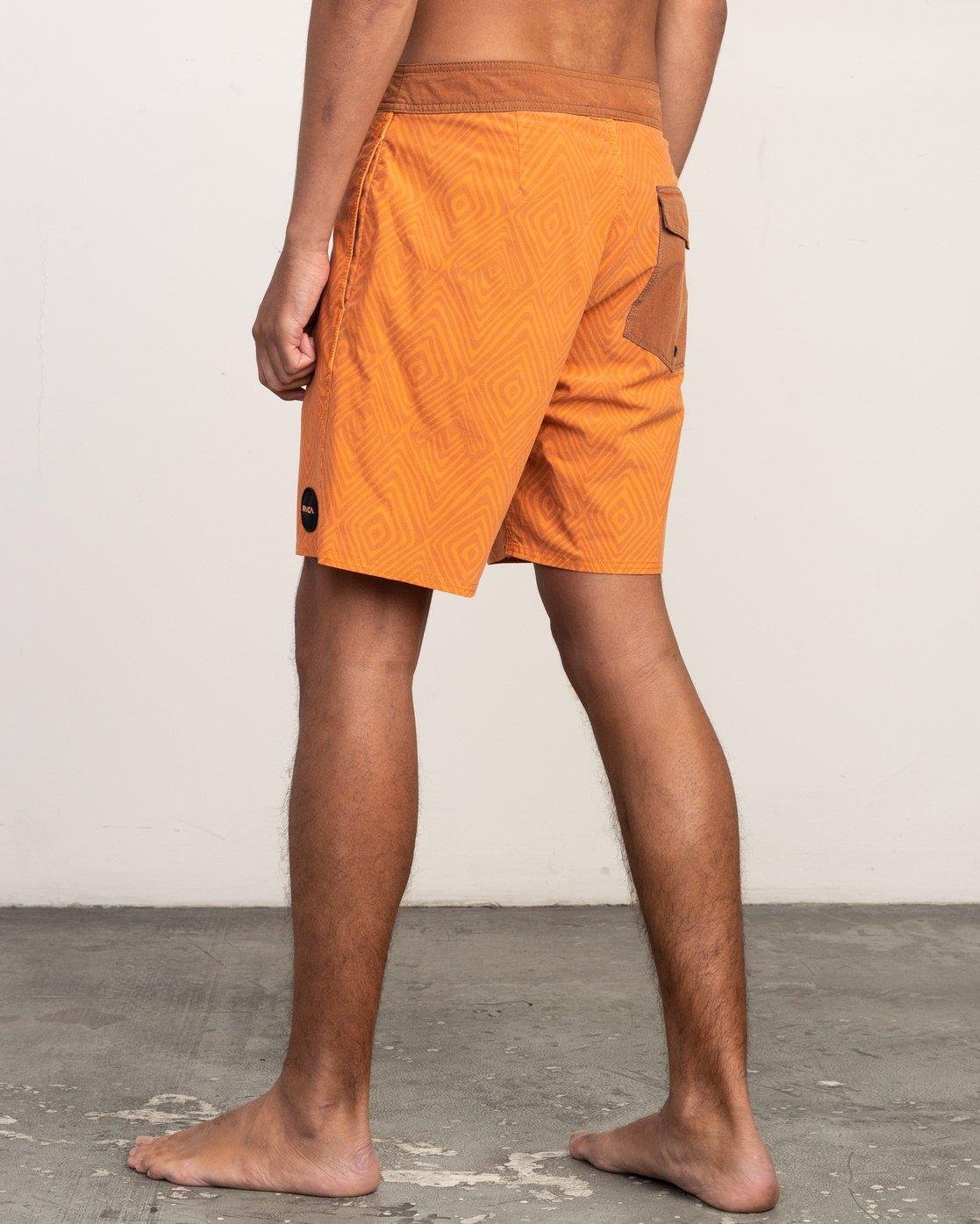 3 Mowgli Mosaic Trunk Orange N1BSRGRVP9 RVCA