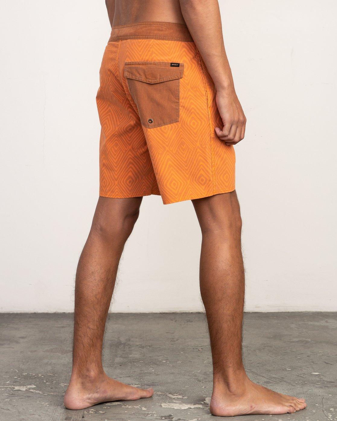 5 Mowgli Mosaic Trunk Orange N1BSRGRVP9 RVCA