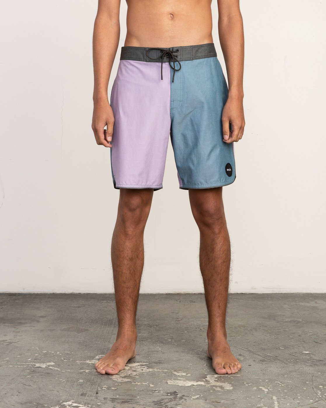 "1 South Eastern Trunk - 18"" Boardshorts for Men Blue N1BSRHRVP9 RVCA"
