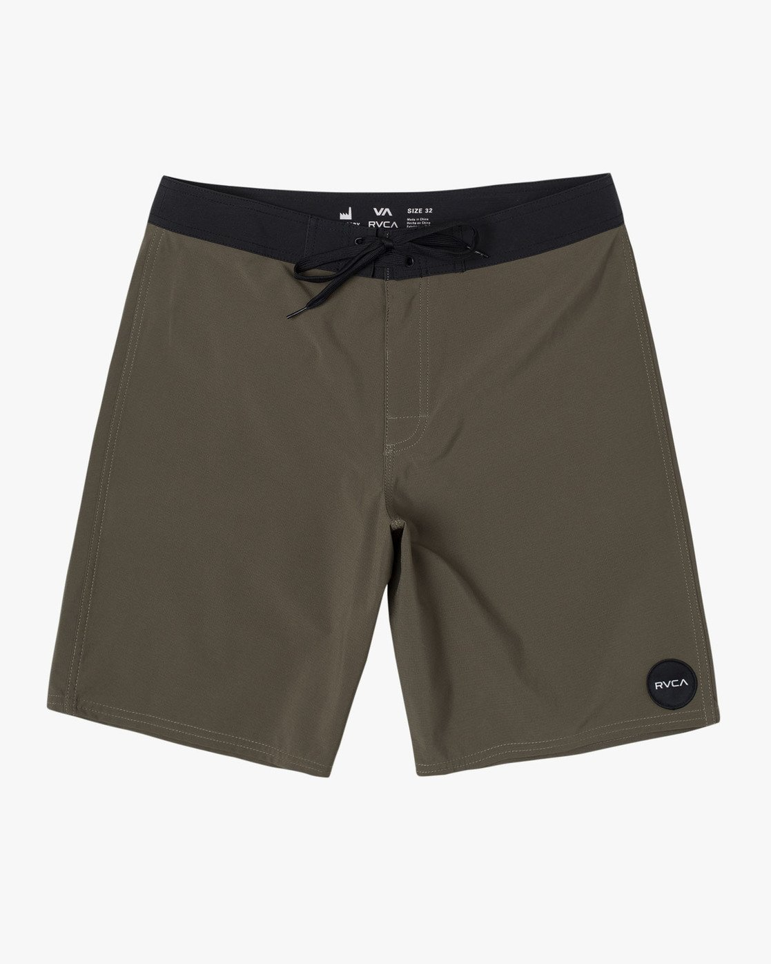 "0 VA Trunk 19"" - Board Shorts for Men Green N1BSRIRVP9 RVCA"