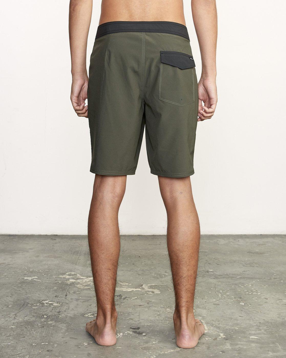"4 VA Trunk 19"" - Board Shorts for Men Green N1BSRIRVP9 RVCA"