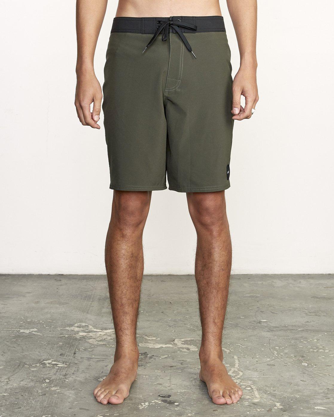 "1 VA Trunk 19"" - Board Shorts for Men Green N1BSRIRVP9 RVCA"