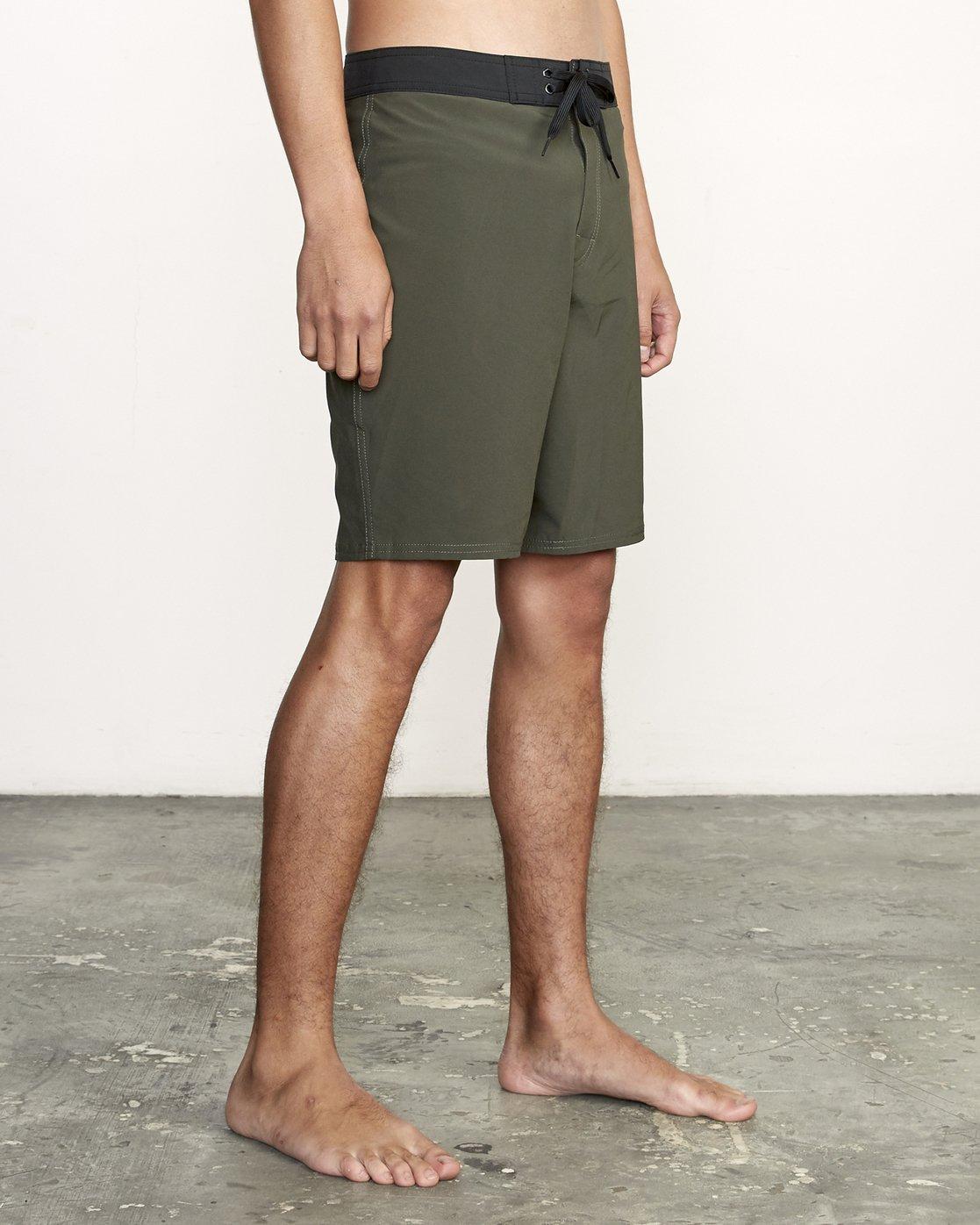"6 VA Trunk 19"" - Board Shorts for Men Green N1BSRIRVP9 RVCA"