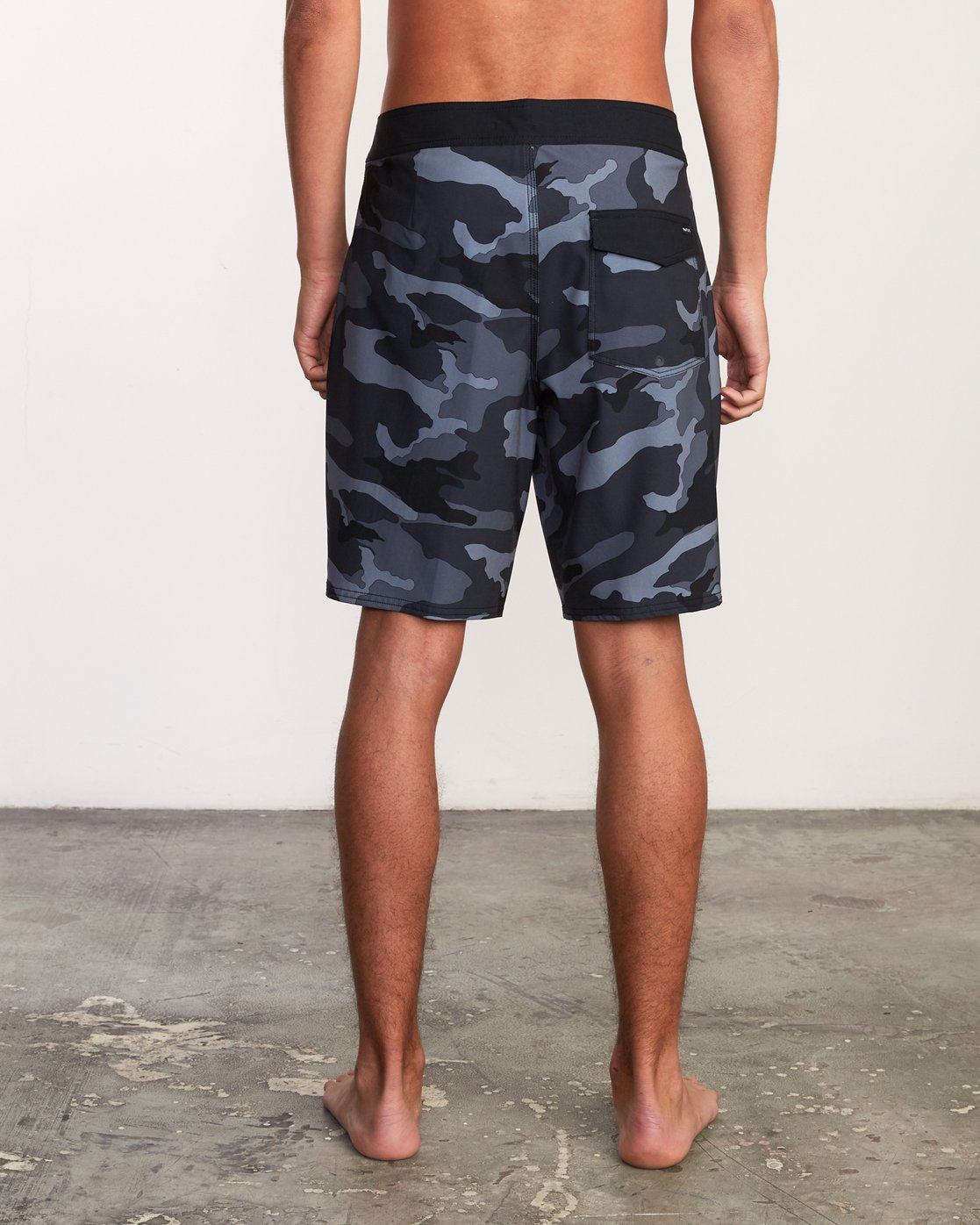 "4 VA Trunk Print - 19"" Boardshorts for Men Grey N1BSRJRVP9 RVCA"