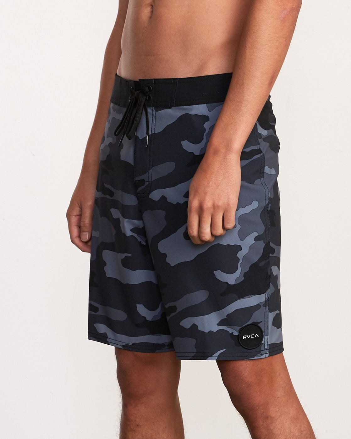 "7 VA Trunk Print - 19"" Boardshorts for Men Grey N1BSRJRVP9 RVCA"